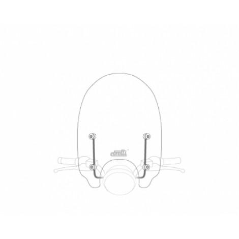 Ebretti windscherm - medium